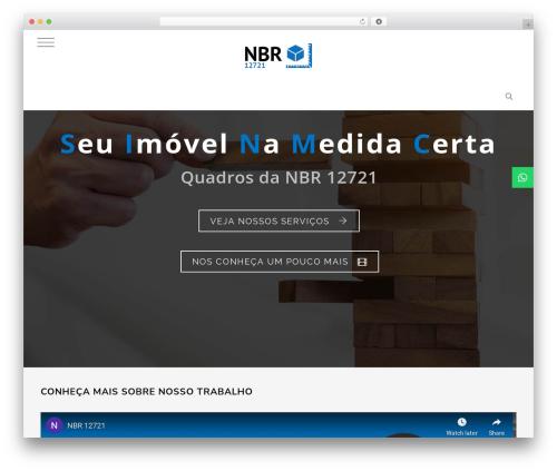 WordPress template Knox - nbr12721.com.br