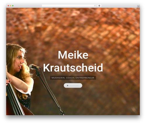Avada premium WordPress theme - meike-krautscheid.de