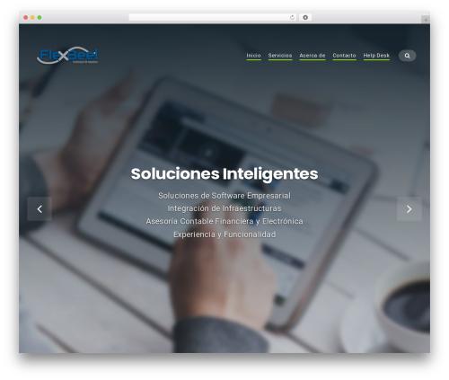 Businessx WordPress theme download - flexbeel.com