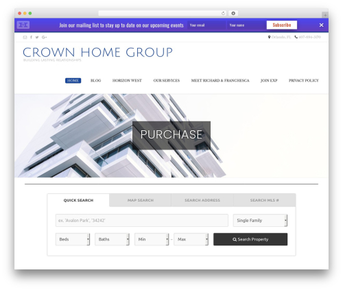 Conica WordPress template free download - crownhomegroup.com