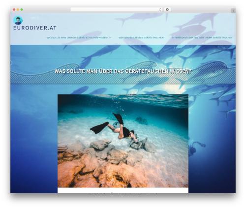 Eminent WordPress template free - eurodiver.at