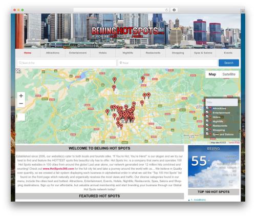 GeoDirectory_child premium WordPress theme - beijinghotspots.com