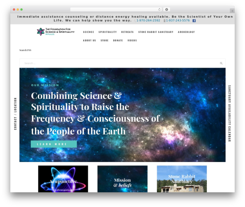Holy Church WordPress theme - fssuniverse.org