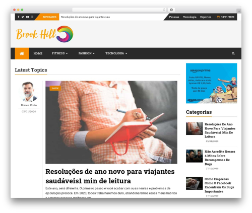 Theme WordPress bFastMag Pro - brookhillgc.com