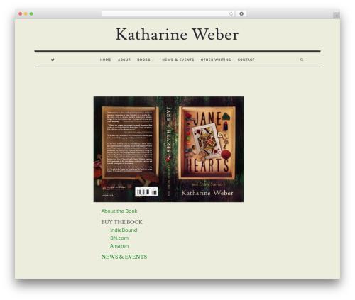 Theme WordPress Oliver - katharineweber.com