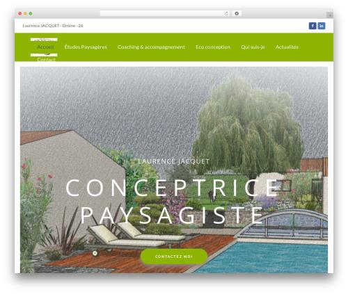 Total premium WordPress theme - laurencejacquet.fr