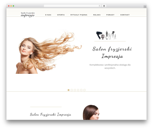 WordPress template Aviana - salon-impresja.eu