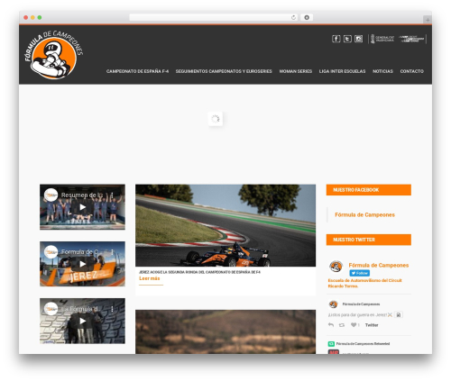WordPress theme LiteMag by Bluthemes - formuladecampeones.com