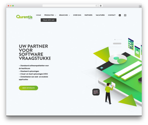 WordPress theme Revolution - qurentis.nl