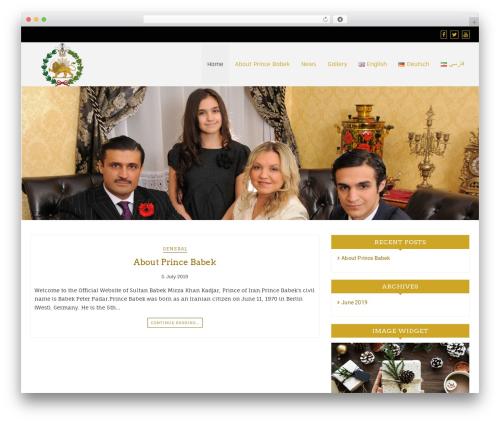 WP template Di Responsive - tekstilticaret.com