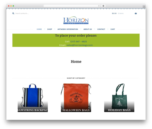 WP template Stationery - horizonbags.com