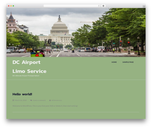 WP theme Fetch - dcairportlimoservice.com