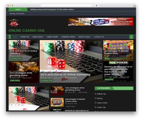 Eggnews free WordPress theme - onlinecasinosusa1.com