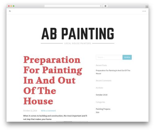 Jason Lite WordPress theme - abpaintingauburnal.com