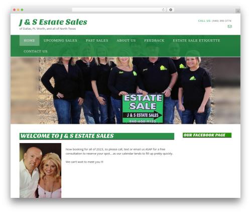Panoramic WordPress theme - jsestatesales.com