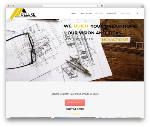 WP theme Craftsman Construction - deluxgroups.com