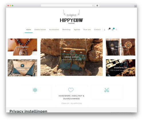 Zass WordPress theme - hippy-cow.com