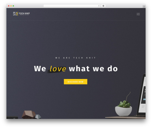 Bonfire WordPress theme - techkhit.com