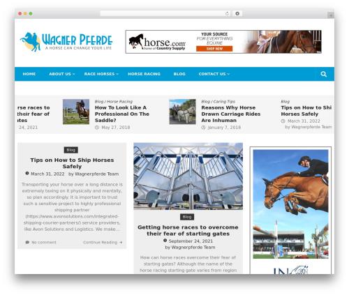 Editorialmag WordPress theme download - wagnerpferde.com