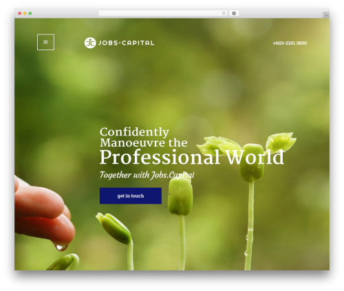 RyanCole best WordPress theme - jobs.capital