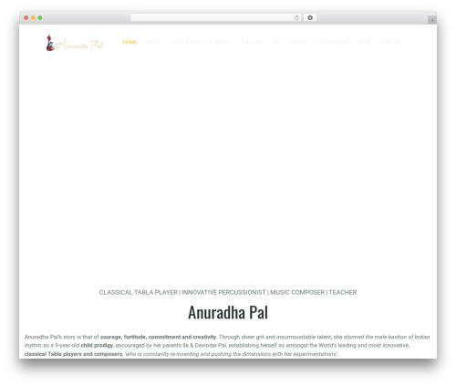 WordPress theme G5Plus Orion - anuradhapal.com