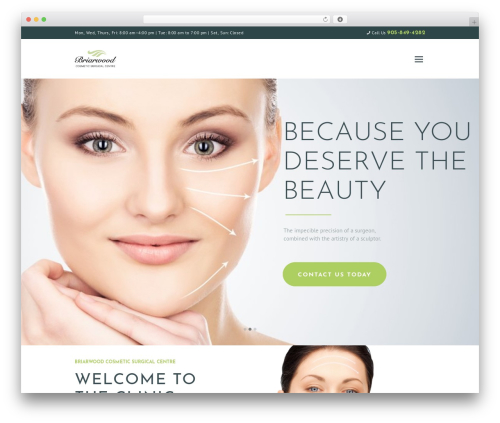 WordPress theme Isida - briarwoodsurgical.com