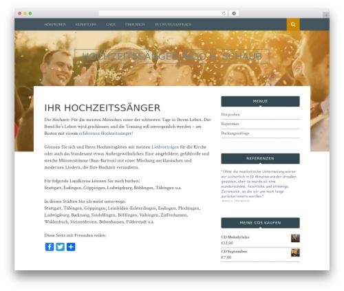 WP theme Bulan - hochzeitsaenger.de