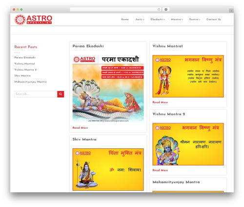 Astrology theme free download - astrospecialist.com