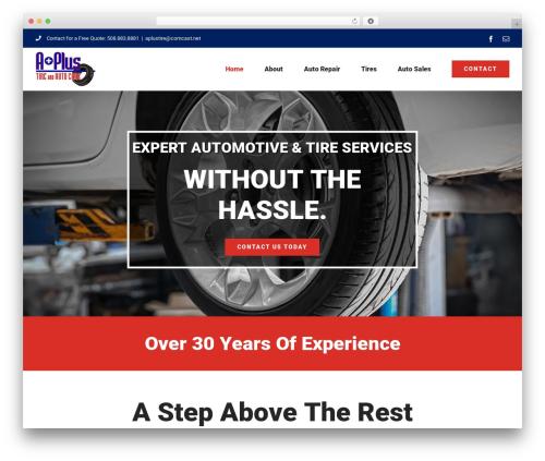 Avada WP theme - aplustireandautocare.com