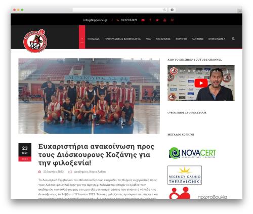 Best WordPress template BigSlam - filipposbc.gr
