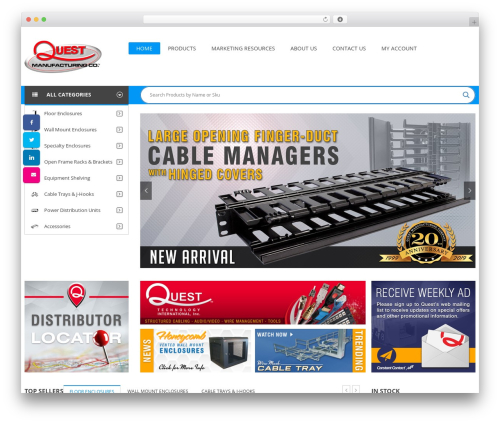 Best WordPress template SW Market - questmanufacturing.net