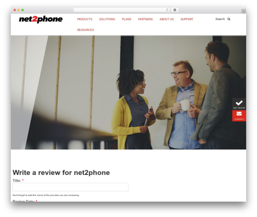 BLANK Theme WordPress template - net2phonereviews.com