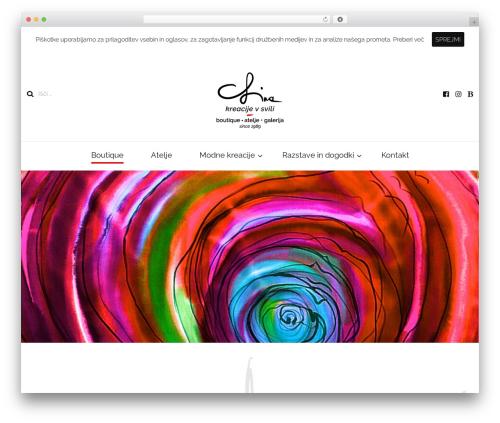 Blossom Fashion WordPress theme - svila-lina.net