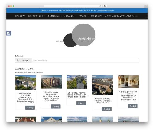 Di Blog WordPress blog theme - bankfoto.info