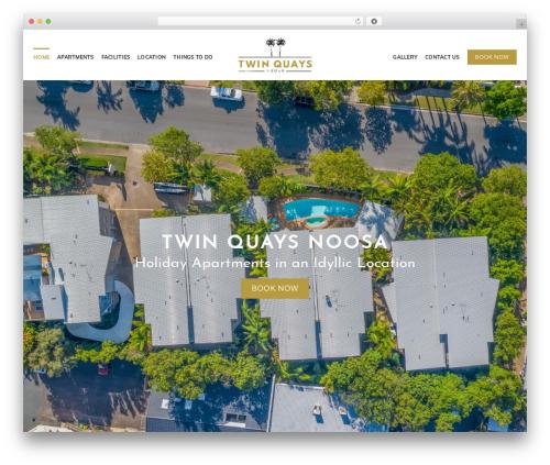 Flatsome WordPress theme - twinquays.com.au
