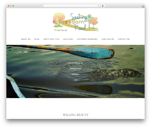Gallery Pro WordPress theme image - seekingfreedomroad.com