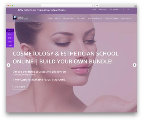 HiiWP theme WordPress - beautytrainingcoursesonline.com