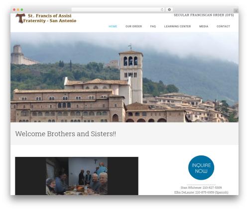 Minimum Pro Theme WordPress theme - sfoasa.com
