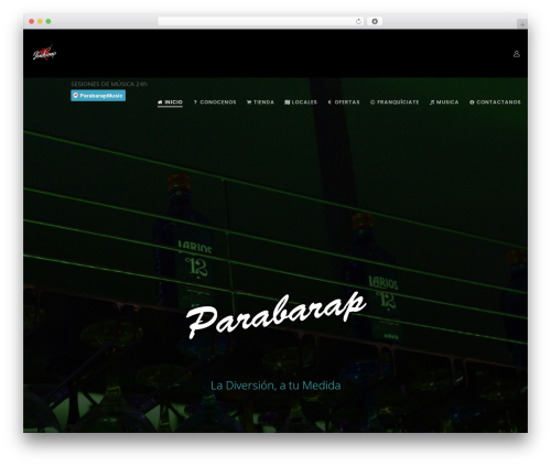 Movedo WordPress theme - parabarap.com