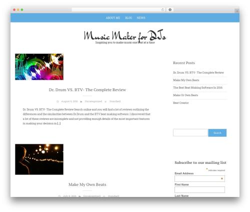 Sean Lite WordPress theme download - musicmakerfordjs.com