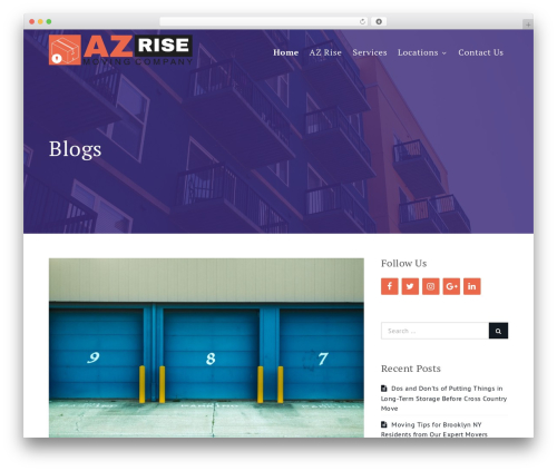 Shark Education WordPress template - azrise.org