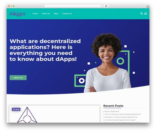 Template WordPress Cryptic - dappsexplained.com