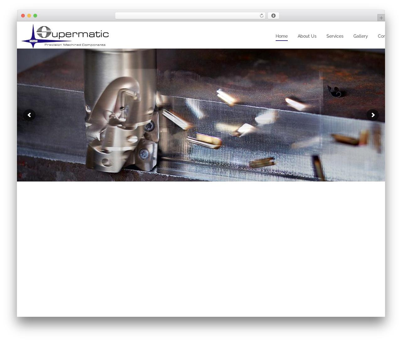 WP template Sanigo - supermaticnc.com