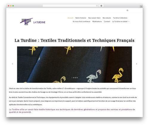 WP theme Terminus - laturdine.fr