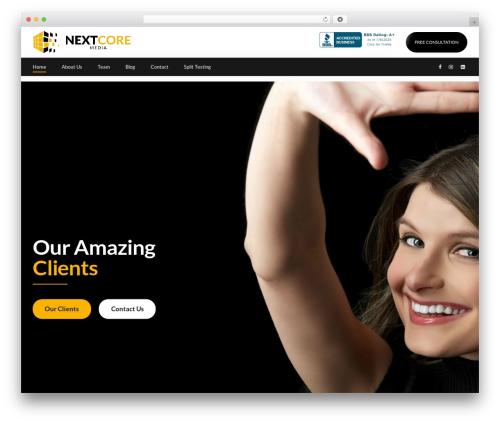 Applauz best WordPress template - nextcoremedia.com