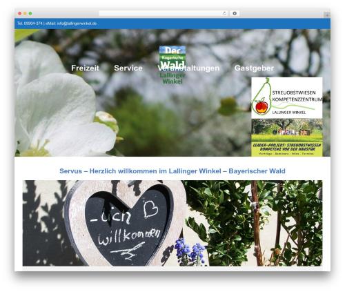 Best WordPress theme Pathter - lallingerwinkel.de
