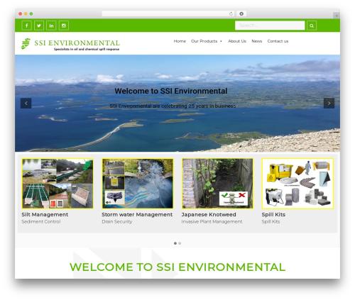 Free WordPress Slick Sitemap plugin - ssienvironmental.ie