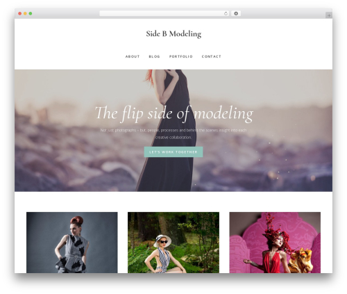 Gallery Pro photography WordPress theme - sidebmodeling.com