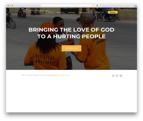 Grace-church WP theme - gospelmissionsforchrist.com