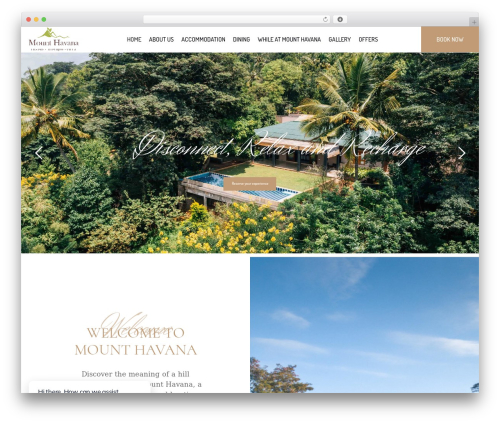 Hotel LUX WordPress hotel theme - mounthavana.com